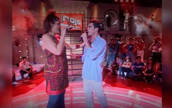 Cuando Álvaro Escobar sorprendió al jurado cantando junto a Katherine Orellana
