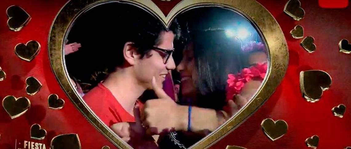¡Qué romántico! Amor del bueno en Kiss Cam de Talca