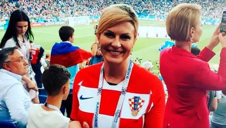 Conoce a Kolinda Grabar, la presidenta e hincha número uno de Croacia
