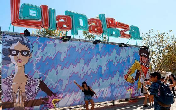 [FOTOS] Así se vive la primera jornada de Lollapalloza