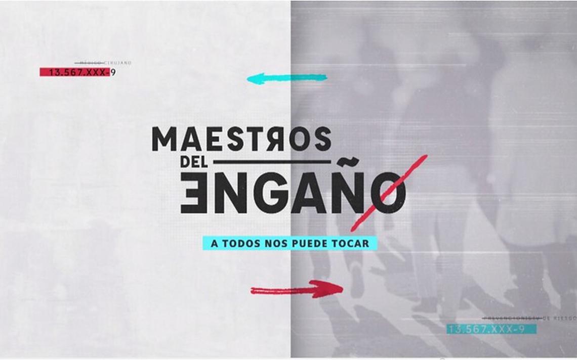 """Este jueves es el gran estreno del programa periodístico """"Maestros ..."""