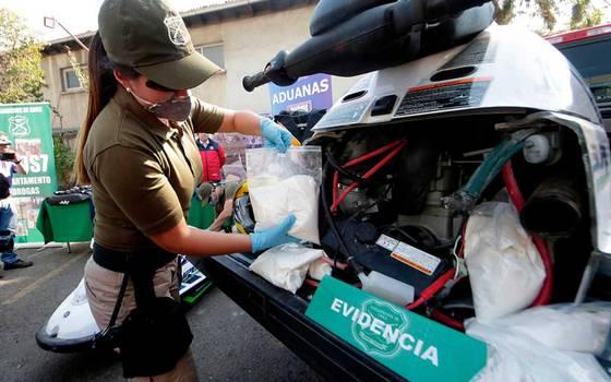 4 mil millones en drogas... ¿Mafia italiana llegó a Chile?