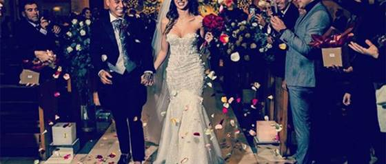 Esposa de Edu Vargas comparte íntimas fotos de su matrimonio
