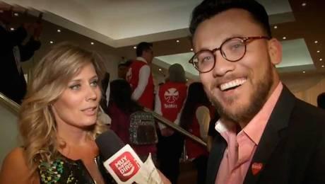 Max desordenó a los famosos en Teletón 2017