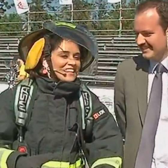 Así se viven los desafíos de bomberos