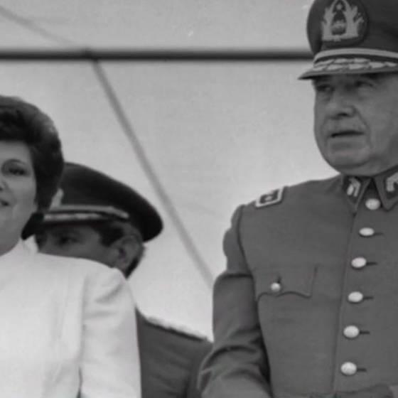 La vida de la viuda de Augusto Pinochet