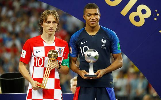 Luka Modric se quedó con el Balón de Oro de Rusia 2018