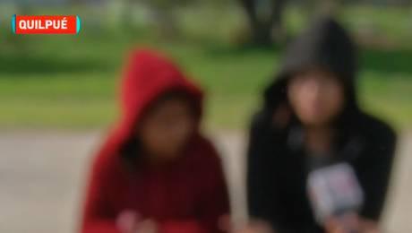 Menores aseguran que intentaron secuestrarlas en Quilpué