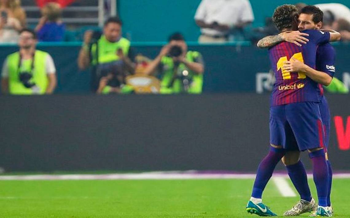 Messi se despide de Neymar con emotivo video