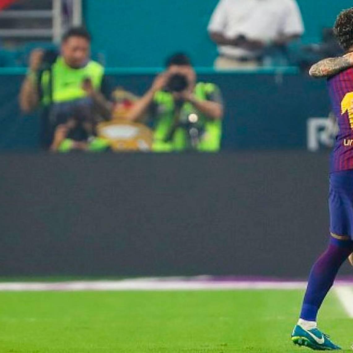 Messi se despide de Neymar con emotivo video