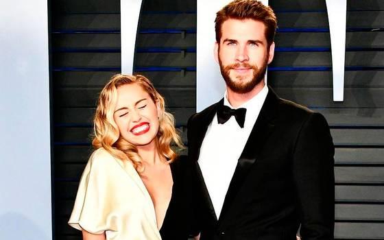 Así celebraron \'San Patricio\' Miley Cyrus y Liam Hemsworth