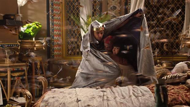 Las langostas invaden Egipto