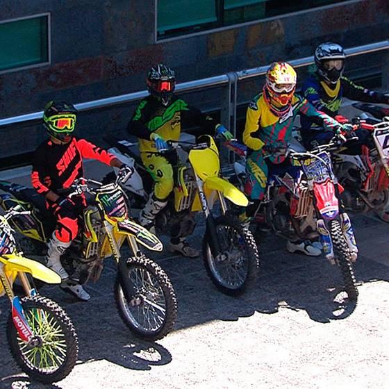 Motociclistas extremos en Muy Buenos Días