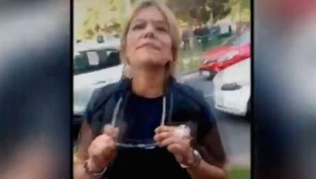 Mujer que protagonizó día de furia en Las Condes pide disculpas