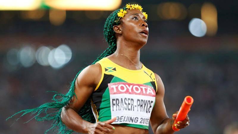 Jamaica gana la posta 4x100 con nuevo récord
