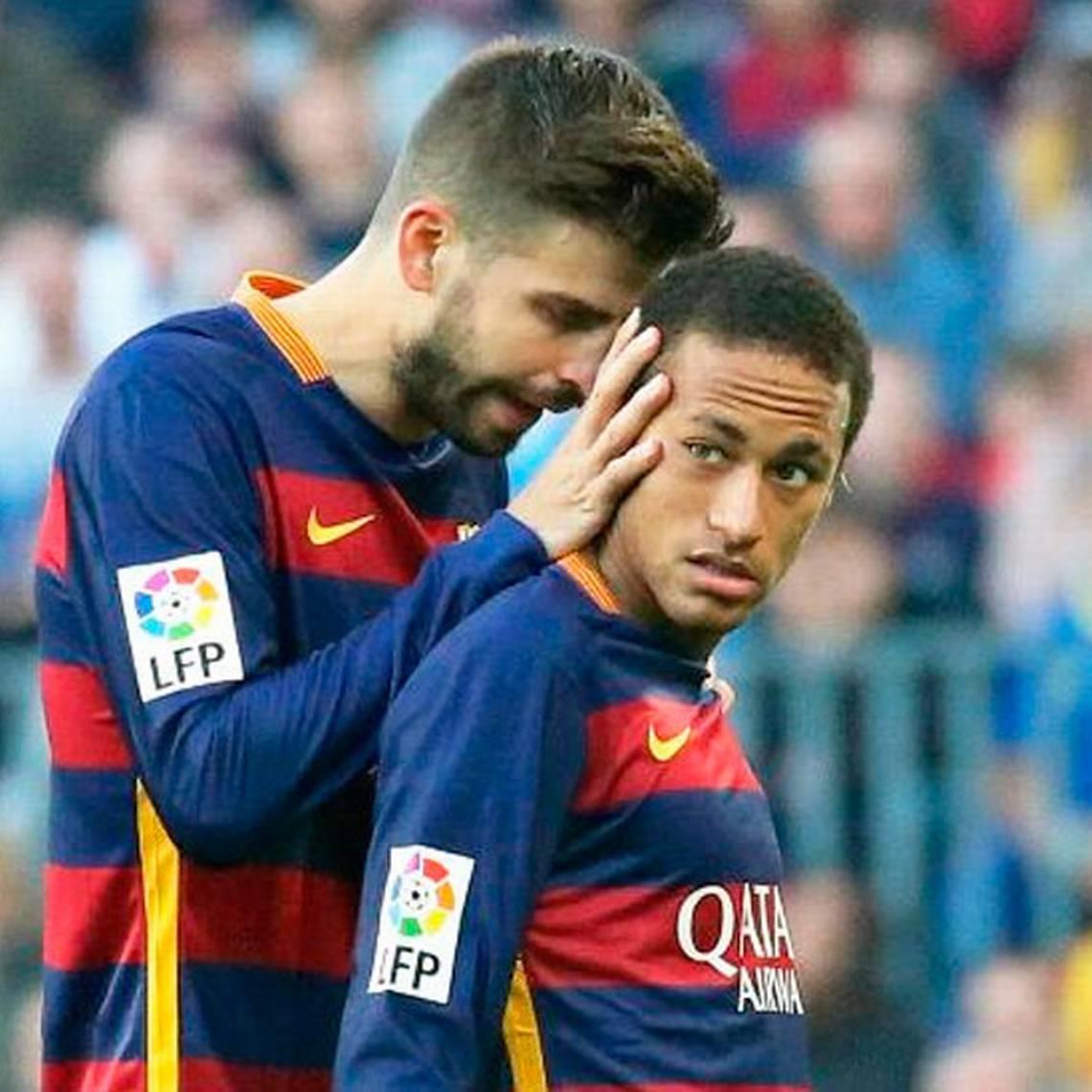 ¿Se queda? Piqué confirma que Neymar no se va del Barcelona