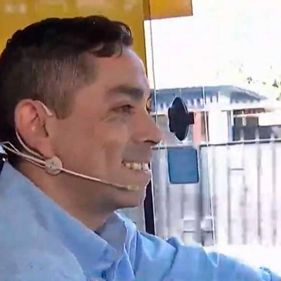 Protagonista de La Vega trabaja como chofer del Transantiago