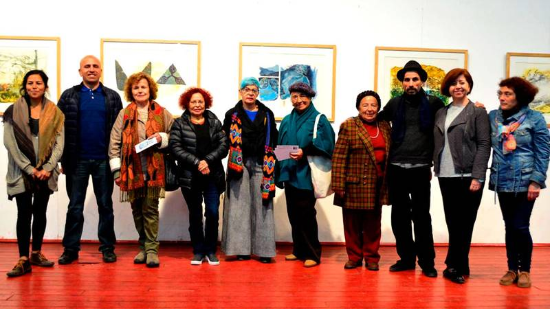Olmué realizó exposición de Grabados V Rural