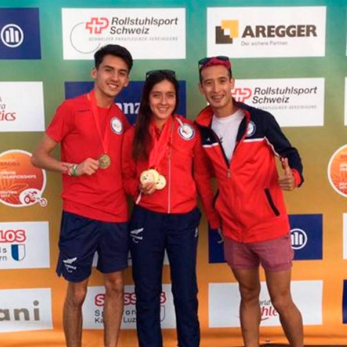 Chileno Mauricio Orrego ganó oro en Mundial Paralímpico