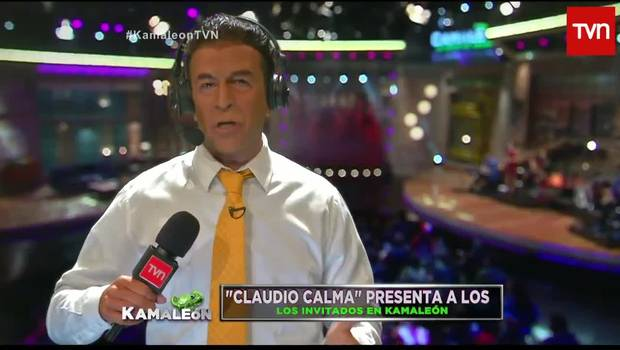 Claudio Palma irrumpe en Kamaleón