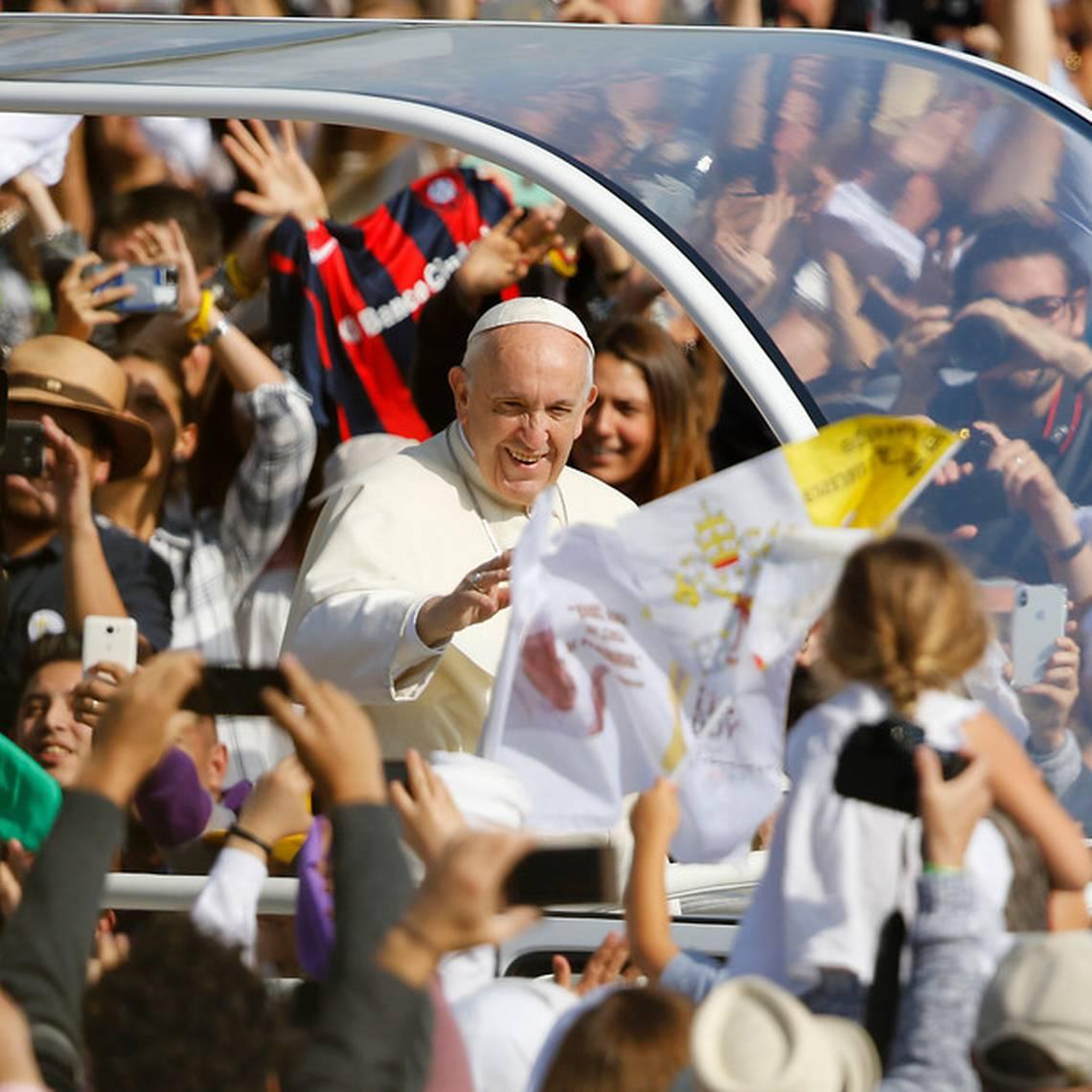 El segundo día del Papa Francisco en Chile