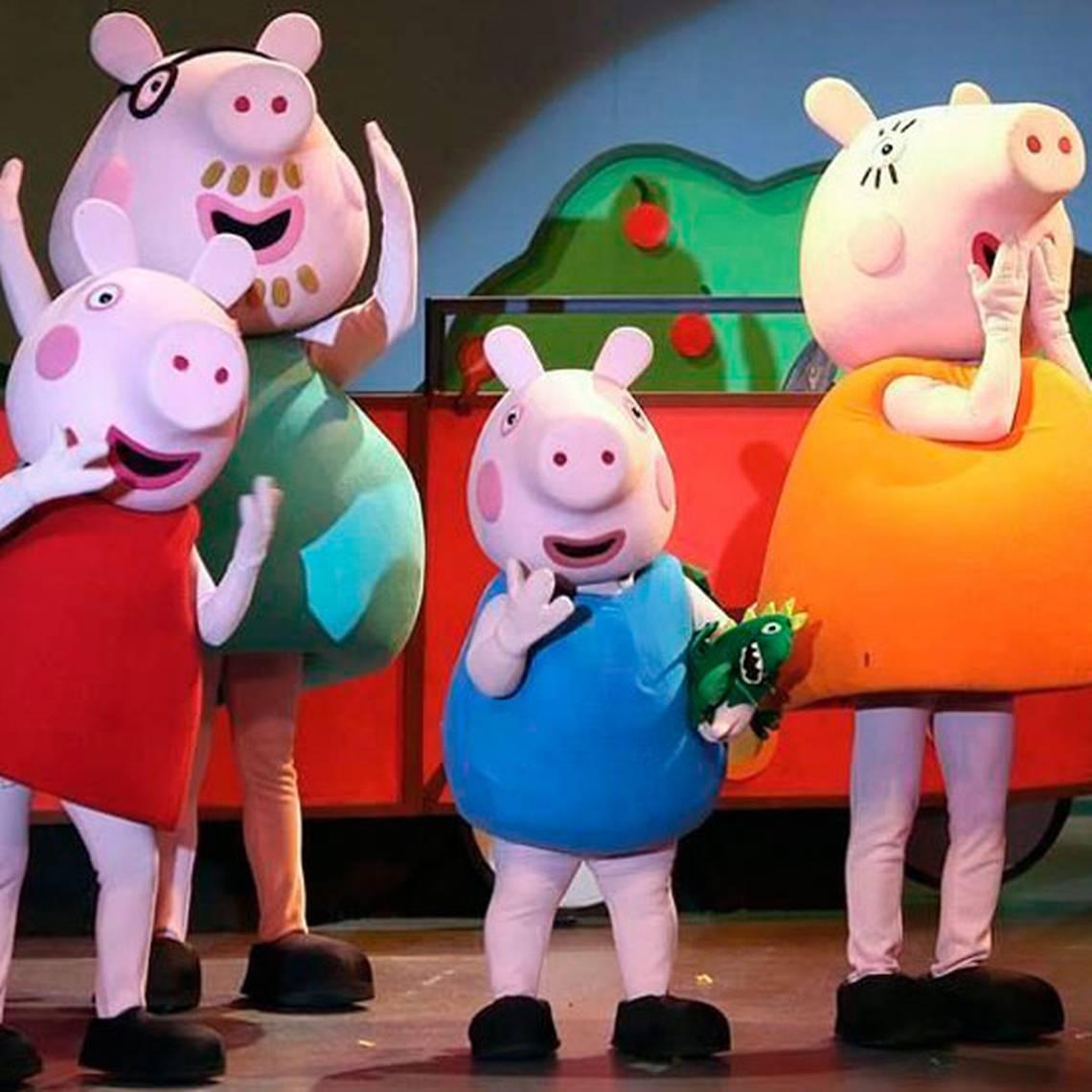 El show de Peppa Pig vuelve a Chile