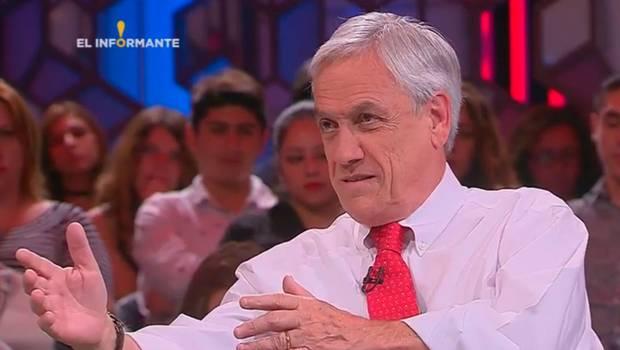 Entrevista a Sebastián Piñera