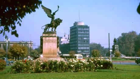 La historia de Plaza Italia y La Moneda
