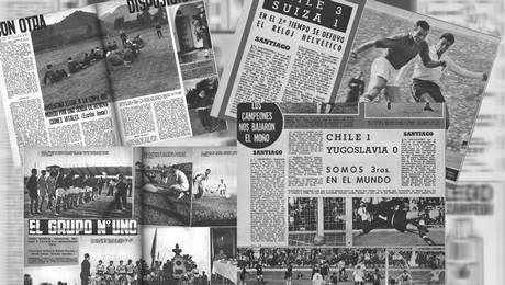 Así cubría la prensa el Mundial del 62