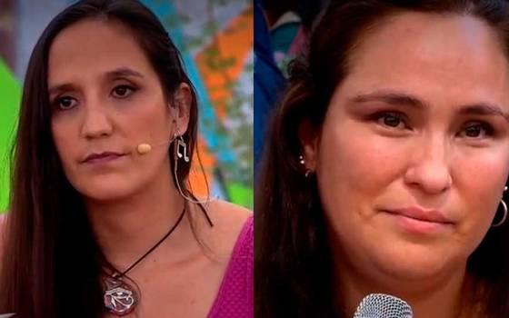 Cristina Araya emociona a persona del público al sentir nueva presencia