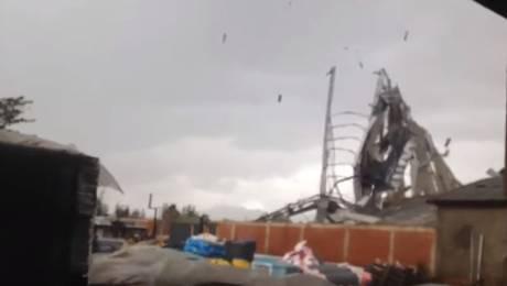 Captan impresionante registro del mini tornado en Quillota