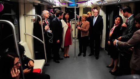 ¡Tecnología de punta! Así fue el viaje inaugural de la Línea 6 de Metro