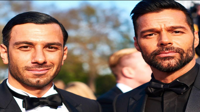 Ricky Martin y su novio causaron furor en la alfombra roja