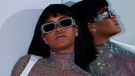 ¿Es Rihanna o una bola disco?