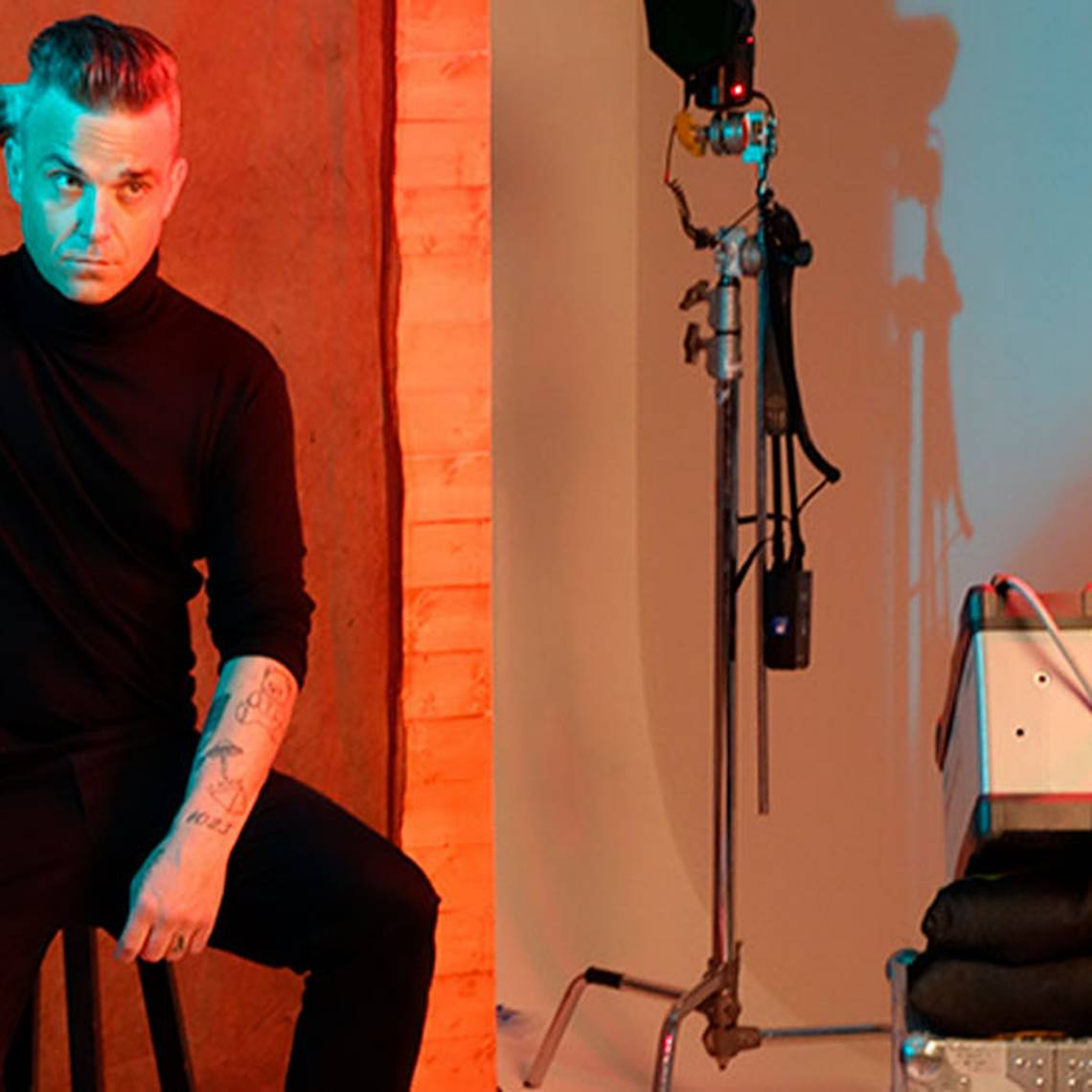 "Robbie Williams se desnuda para su nuevo disco ""Under the Radar Volume 2"""