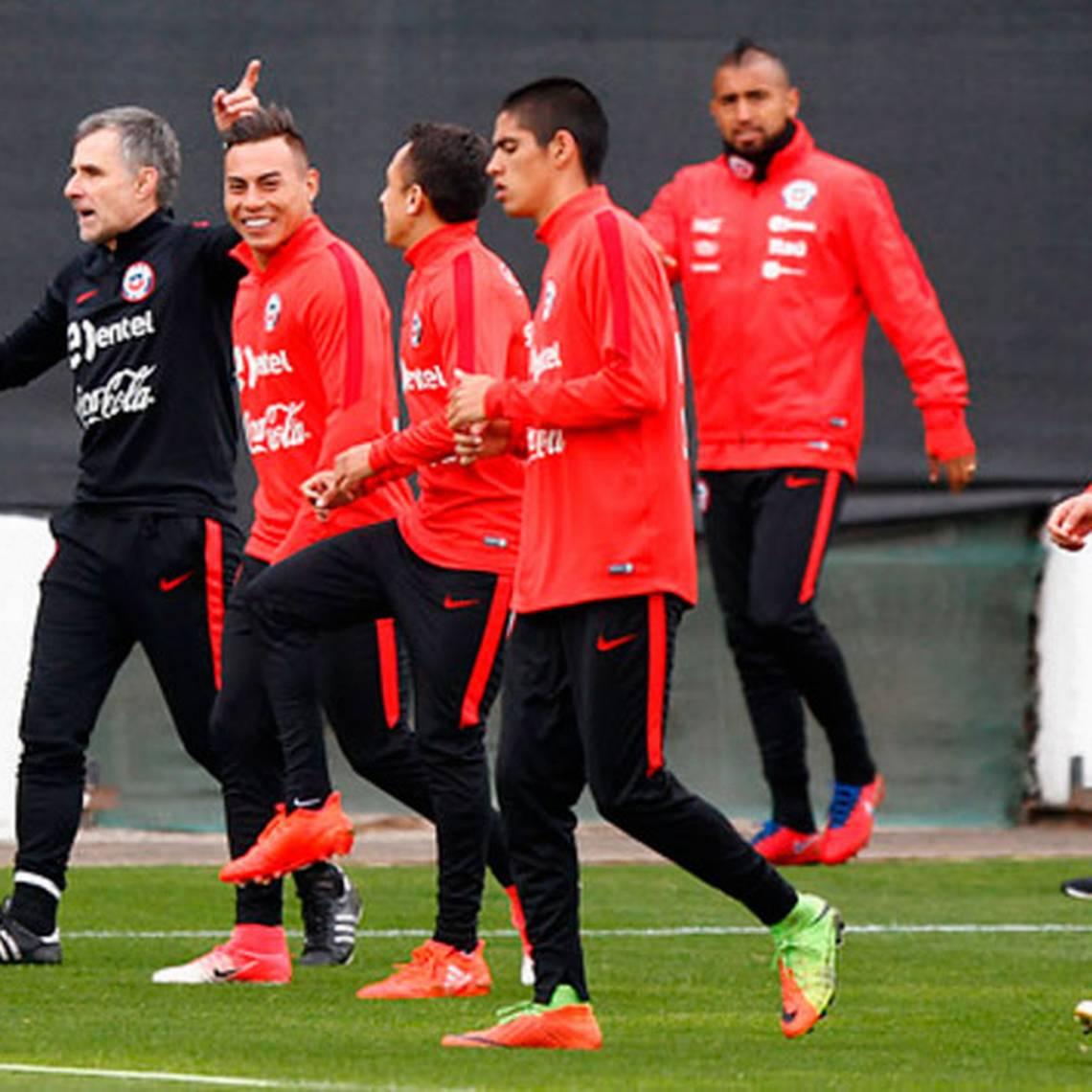 [GALERÍA] La Selección chilena ya entrena en Juan Pinto Durán