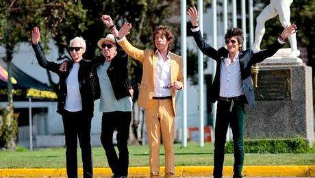 Rolling Stones saludaron a sus fans
