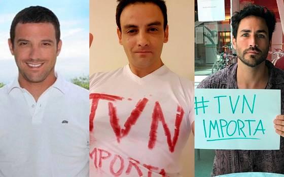 Rostros y trabajadores de TVN se unen bajo el hashtag #TVNimporta