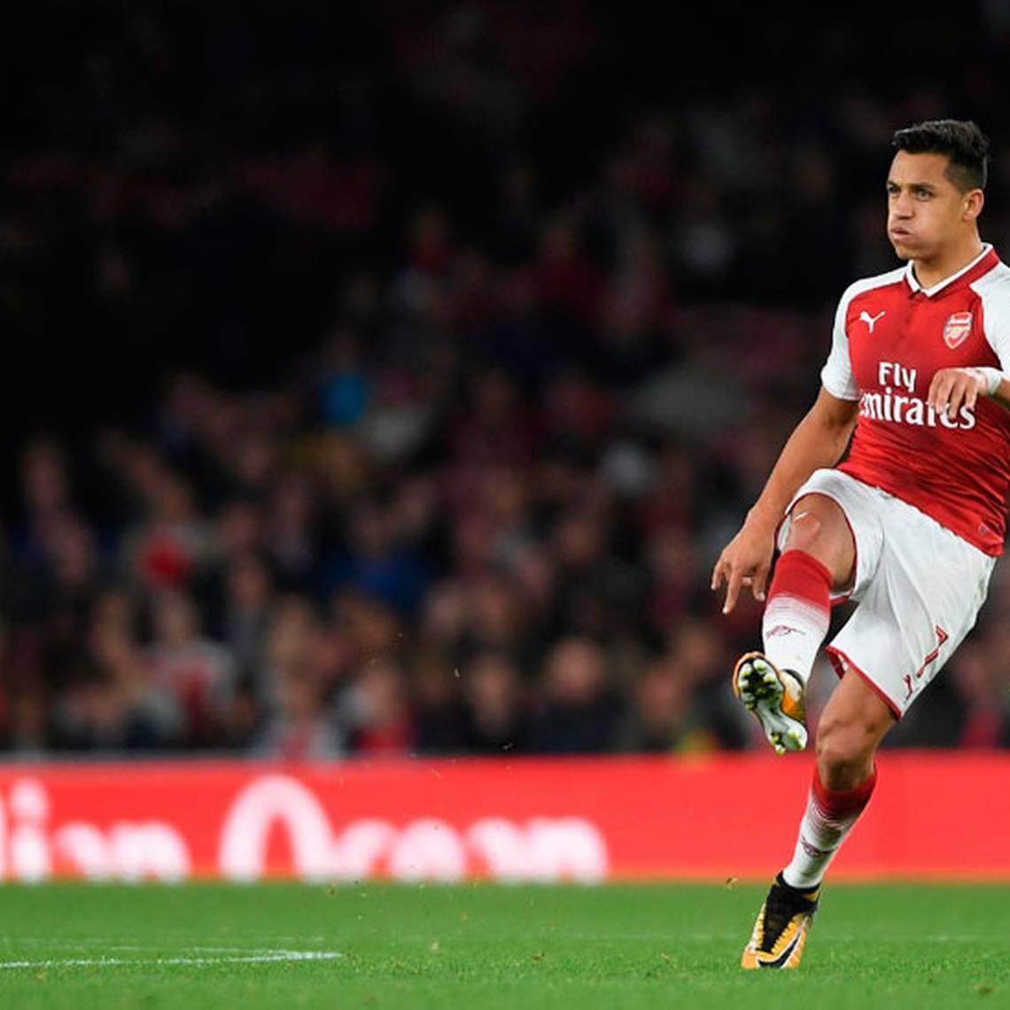 Alexis Sánchez deslumbra con sus lujos en victoria del Arsenal