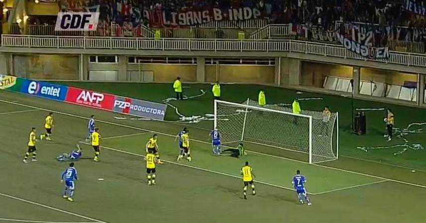 San Luis 3 - 1 U. de Chile