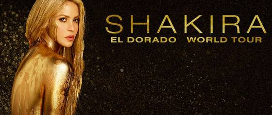 "Shakira regresa a Chile con ""El Dorado World Tour\"""