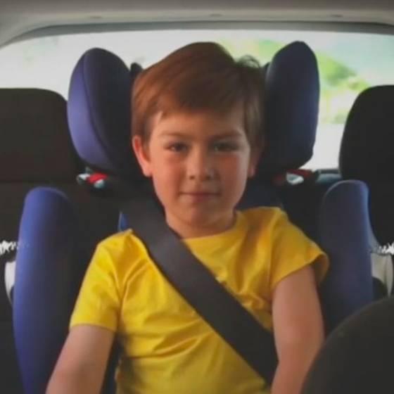 Silla será obligatoria para niños hasta los 9 años