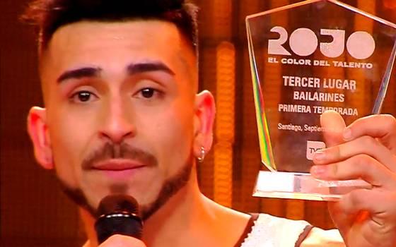 Matías Falcón se coronó con el tercer lugar categoría bailarines