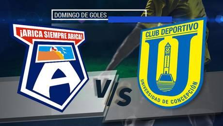 SM Arica vs U. de Concepción