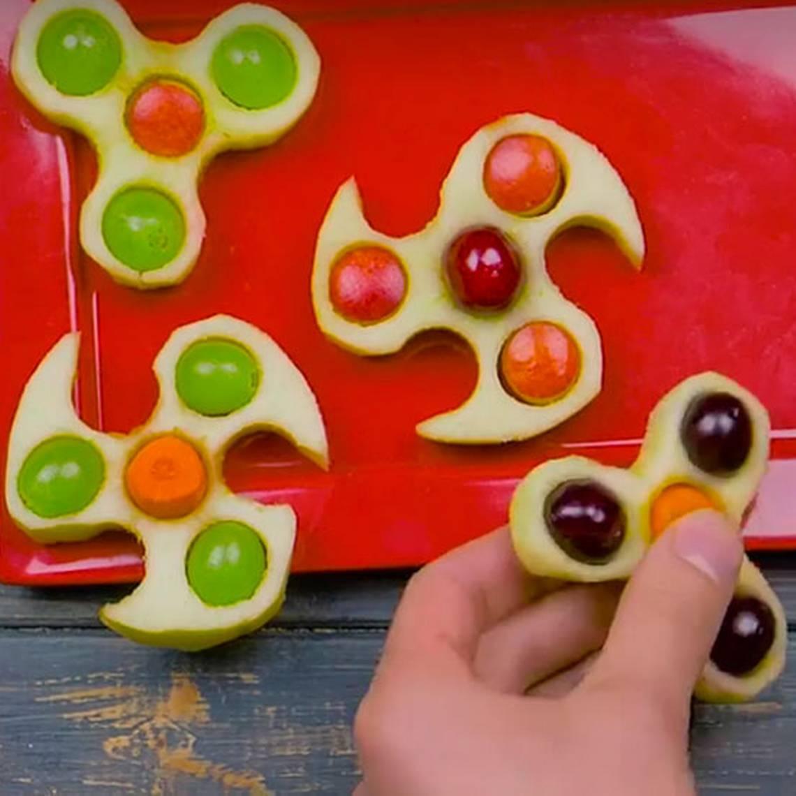 ¡Deliciosos! Prepara tus propios spinners comestibles