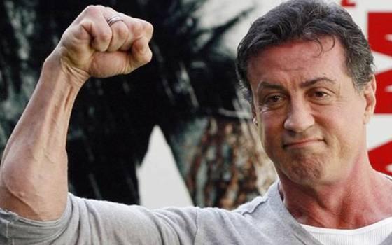 Así es el rudo entrenamiento de Sylvester Stallone
