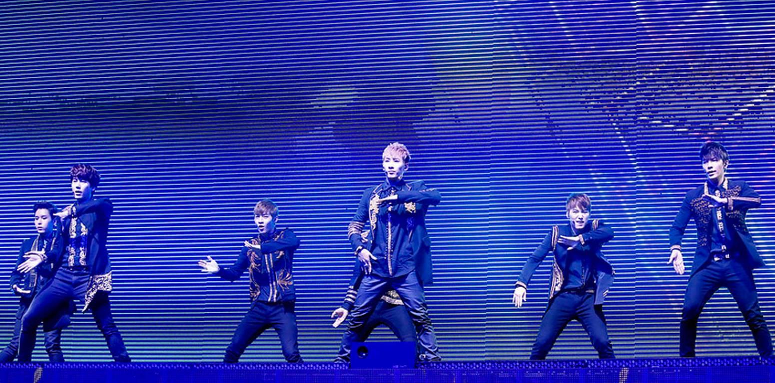 Banda de k-pop Super Junior arrasa con nuevo tema en español