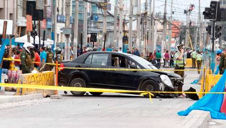 Fiscalización terminó con atropellos, balacera y heridos de gravedad en Maipú