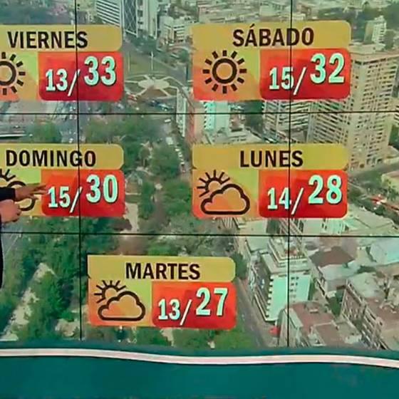 ¡Ola de calor durante los próximos días!
