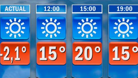 ¿Continuarán las temperaturas bajo cero?